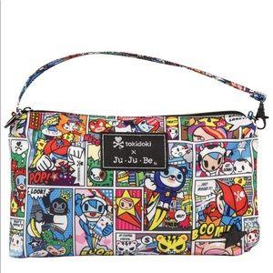 TokiDoki Ju Ju Be Super toki mini bag wristlet